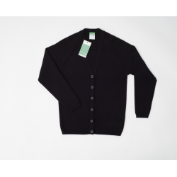 Unisex Mixed Cotton Cardigan