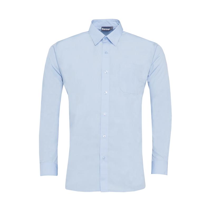 94540df176b111 Junior Boys Twin Pack Long Sleeve Shirt